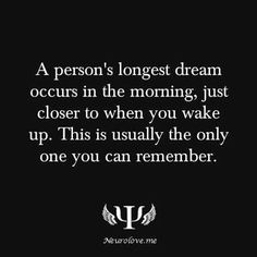 well i usually remember more than one dream but this might be why i want to go back to sleep and try to remember my dream, cuz so vivid Psychology Says, Psychology Quotes, Dream Psychology, Weird Facts, Fun Facts, Random Facts, Crazy Facts, Unusual Facts, Facts About Dreams