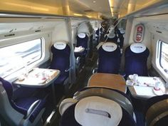 First class seats on a Virgin Trains 'pendolino' Industrial Dining Chairs, Mid Century Dining Chairs, Cheap Tickets, Online Tickets, Buy Train Tickets, First Class Seats, Teal Accent Chair, Accent Chairs, Adirondack Chair Plans Free
