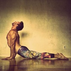 "yogadudes: ""Day 2 #backbendmadness2014 Cobra Pose #spandexbombers #donttakeyouryogatooserious #yogawithgordon - @gordonogden- #webstagram """