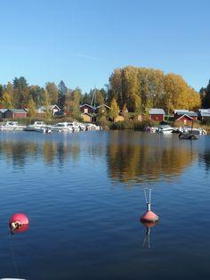 Västervikin venesatamaa Vaasassa