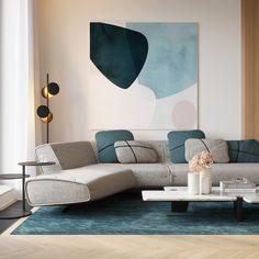Living room Chic Living Room, Living Room Decor, Bedroom Decor, Modern Interior, Home Interior Design, Interior Decorating, Interior Plants, Unique Home Decor, Cheap Home Decor