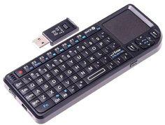 Mini Wireless Keyboard, Mouse & Pointer
