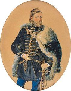 Barabás Miklós -Károlyi Sándor gróf fiatalkori portréja Hungary, Royals, Medieval, Clothing, Art, Fur Vests, Russia, Tall Clothing, Art Background