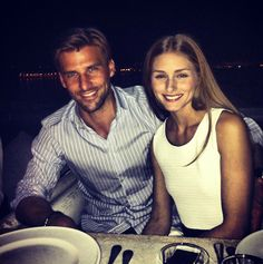 THE OLIVIA PALERMO LOOKBOOK: Olivia Palermo and Johannes Huebl vacationing in Greece.