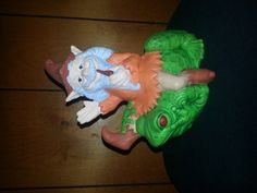 Gnome on a frog by TnCCeramics on Etsy, $20.00