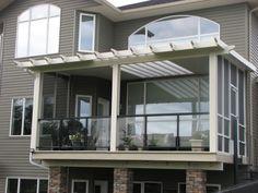 Hybrid Patio Covers in Calgary Calgary, Pergola, Deck, Patio, Cover, Outdoor Decor, Home Decor, Decoration Home, Terrace