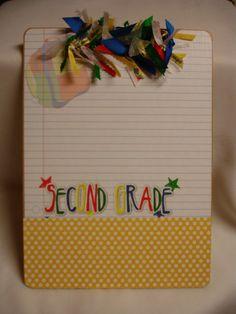 TEACHER CLIPBOARD personalized free. $16. Cute teacher gift