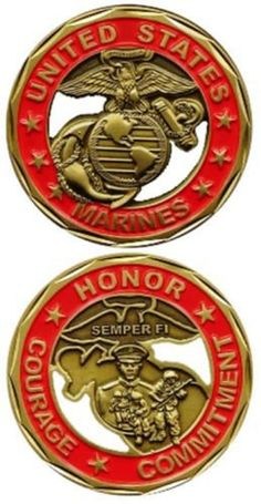 "MARINE CORPS RETIRED/"" PATRIOTIC MILITARY S HONOR//Iron On Patch /""U DUTY"