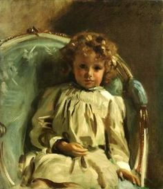 Master Keith -- by John Singer Sargent (1856 – 1925, American)