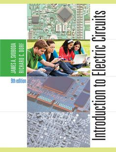 15 best electronics_books images in 2019 electronic bookscomplete solution manual for introduction to electric circuits, 9th edition by james a svoboda, richard c dorf 9781118560587