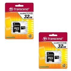 SDHC Memory Cards Vivitar ViviCam 46 Digital Camera Memory Card 2 x 32GB Secure Digital High Capacity 2 Pack