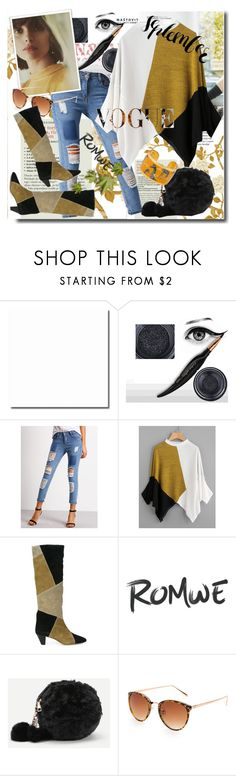 """""""Romwe 5/2"""" by pesanjsp ❤ liked on Polyvore featuring Isabel Marant and Évocateur"""
