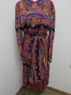 Vintage 1960s Ocar de La Renta Silk Lined by PfantasticPfinds, $89.99