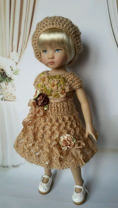 """OOAK Outfit for doll 13"""" Effner Little Darling) Spring collection  #DiannaEffner"""