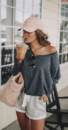 casual outfits for winter ; casual outfits for women ; casual outfits for work ; casual outfits for school ; Modest Summer Outfits, Casual Summer Outfits For Women, Trendy Outfits, Cute Outfits, Casual Summer Clothes, Casual Summer Fashion, Outfit Ideas Summer, Comfy Clothes, Short Outfits