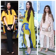 This summer season try the trendy Cape Kurtis. Know the various Cape Style Kurti Designs and patterns that are perfect for any casual occasion. Indian Suits, Indian Attire, Indian Wear, Pakistani Cape Dresses, Indian Dresses, Abaya Fashion, Indian Fashion, Fashion Outfits, Kurta Designs