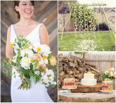 DIY rustic wedding decoration for backyard wedidngs 15 DIY Wedding Ideas…
