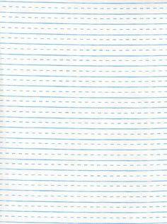 Handwriting Paper in White by  Sugar Pixie- Fat Quarter. $2.75, via Etsy.