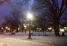 ...winter streets in Denver