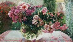 Цветочные поэмы.... Творческий дуэт Лариса Псарёва и Александр Воронков.