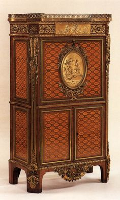 oldroze:    Drop-front secretaire  1783    Wallace Collection, London, United Kingdom Furniture, Veneered oak 139cm