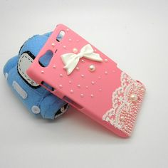 the cutest! Handmade hard case for Motorola Razr Maxx Bling by CheersCases, $21.99
