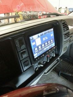 2003 Chevrolet Silverado 2500Hd >> Alpine 9inch restyle custom build dash relocate ac controls came out clean chevy tahoe | Car ...