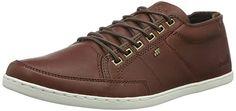 Boxfresh Herren Sparko Icn Lea Sneakers, Braun (Russet), 43 EU