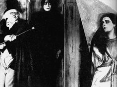 The Cabinet of Dr. Caligari (screen shot).  Absolutely adore German expressionist films