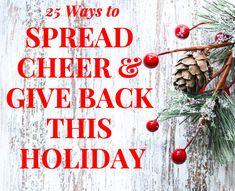 Ways to Spread Cheer