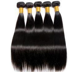 Mshere Hair Straight Hair Bundles With Closure Indian Non Remy Human Hair 4 Pcs/Lot Hair Weave Bundles With Lace Closure Bundles Weave Hairstyles, Straight Hairstyles, Remy Hair Extensions, Remy Human Hair, Lace Closure, Textured Hair, Things To Buy, 1 Piece, Classic Style