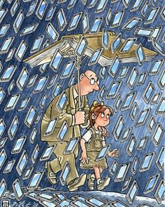 (notitle) - Katja Dominikus The Effective Pictures We Offer You About titanic Satire A quality picture can tell you many things. You can find the most beautiful pictures that can be presented to you a Pictures With Deep Meaning, Art With Meaning, Satirical Illustrations, Meaningful Pictures, Deep Art, Reality Of Life, Social Art, Political Art, Wow Art
