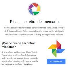 Iba a descargar #GooglePicasa pero parece que Google no quiere que lo usemos más y nos invita a usar #GoogleFotos. Tendré que rebuscar por ahí