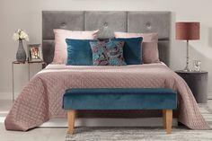 Posteľ ustlaná v kolekcii Velvet.  #vankuse#lavica#prehoz#vankuse#panely Comforters, Classy, Velvet, Blanket, Studio, Bedroom, Elegant, Luxury, Stylish