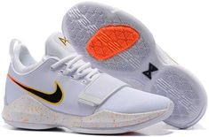 b5cd38518cad Paul George PG1 generation basketball shoes black and white check - Dicount  Nike Store