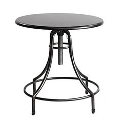 industrial bistro table, $299
