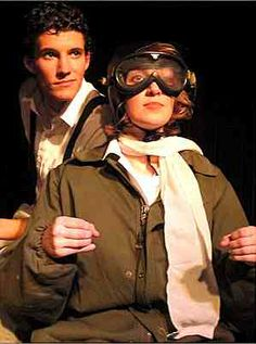 ArtReach has tons of scripts for touring to schools.  Teachers and students love them!  Here's AMELIA EARHART, a favorite for drama contests!