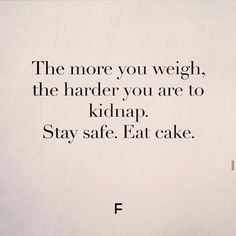 Thank you cakes for keeping us safe