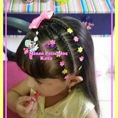 PEINADOS INFANTILES ♡CURSOS (@minnipeinadoskata) | Instagram photos and videos Teen Hairstyles, Box Braids Hairstyles, Little Girl Hairstyles, Gymnastics Hair, Baby Girl Hair, Hair Dos, Diana, Hair Beauty, Hair Styles