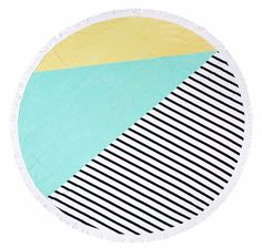 Stripes Round Towel: http://www.stylemepretty.com/living/2016/05/29/20-trendy-beach-towels-that-will-have-you-sitting-pretty-this-summer/