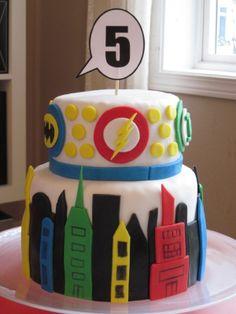Superhero Cake SF