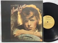 David Bowie Young Americans Vinyl Record LP RCA Gold Label APL1 0998