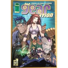 The Gear Station #1 Image Comic Book £1.00