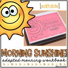 NUMBER 1 BEST SELLER ON TPT * Functional, differentiated skill work that is the perfect addition to your morning routine and calendar time. This adapted binder will help your students start their day off right, and once mastered, can be a set of skills they complete successfully and independently.