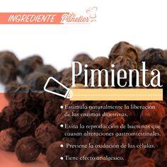 Además de ser uno de los condimentos más importantes en el mundo, la pimienta cuenta con múltiples beneficios para la salud. #Pimienta