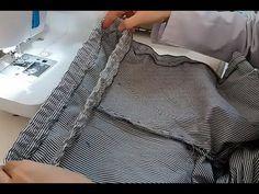 Lastikli Pantolon Nasıl Dikilir? - Lastik Belli Pantolon / How to Build a Rubber Trouser? - YouTube