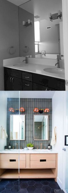 Before and After: Venice Beach Bathroom by Amber Lewis