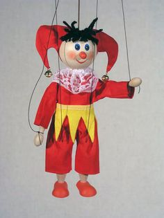 Marionette Puppets | Buffoon , marionette puppet