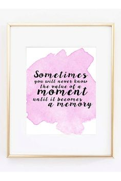 Sometimes by SweetSimplePrints on Etsy