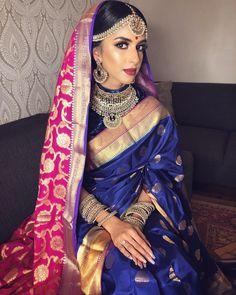 Desi Bride, Punjabi Bride, Hindu Bride, Desi Wedding, Wedding Ideas, Bridal Silk Saree, Bridal Lehenga, Asian Wedding Dress Pakistani, Big Fat Indian Wedding